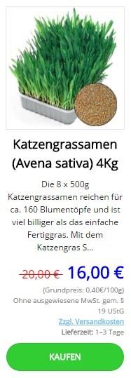 Katzengras samen kaufen